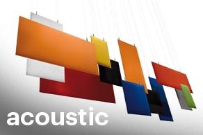 acoustic panels menu
