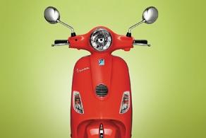 Vespa Lx 125 Red